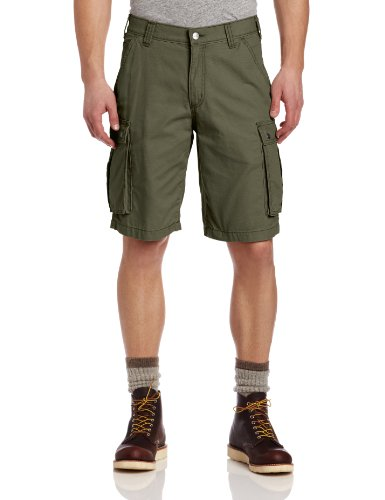 Carhartt Men's Rugged Cargo Short Relaxed Fit,Army Green,50