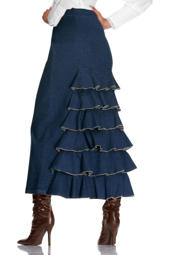 Ruffle-Back Skirt - Buy Ruffle-Back Skirt - Purchase Ruffle-Back Skirt (Metrostyle, Metrostyle Skirts, Metrostyle Womens Skirts, Apparel, Departments, Women, Skirts, Womens Skirts)