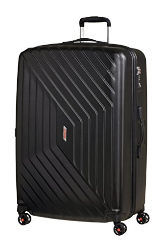 American Tourister Air Force 1 Spinner 81/30 Valigia, Policarbonato, Galaxy Black, 117 litri, 81 cm