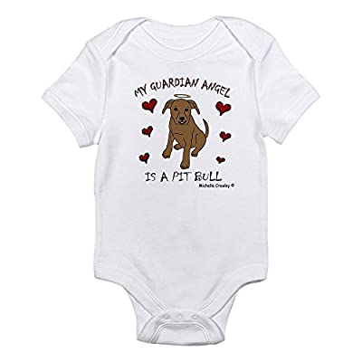CafePress pit bull Infant Bodysuit