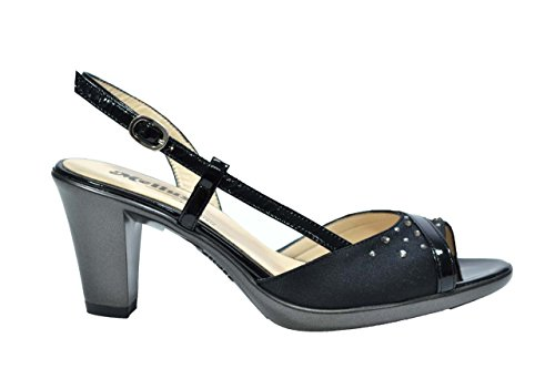 Melluso Sandali scarpe donna nero R5874 39