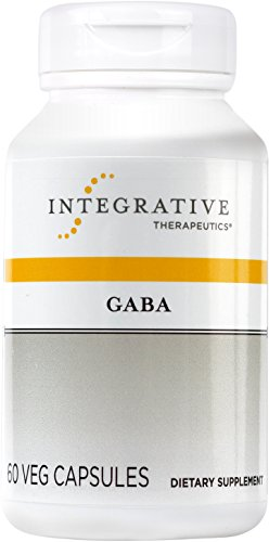 Integrative Therapeutics - GABA - Amino Acid Supplement - 60 Capsules