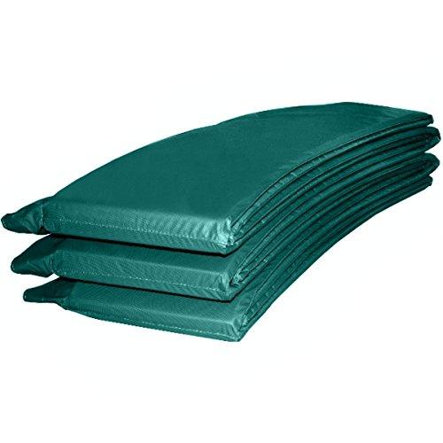 Randabdeckung Federabdeckung Randschutz Abdeckung grün für Trampolin Ø 366 cm - Ø 370 cm