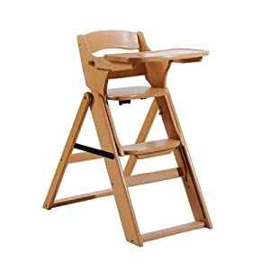 bolin bolon 1044806018500 evolution re nat rlichen holz hochstuhl baby. Black Bedroom Furniture Sets. Home Design Ideas