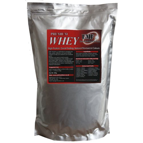 EMF Whey Protein Powder Chocolate High Protein Shakes, Low Carbs - Whey Protien