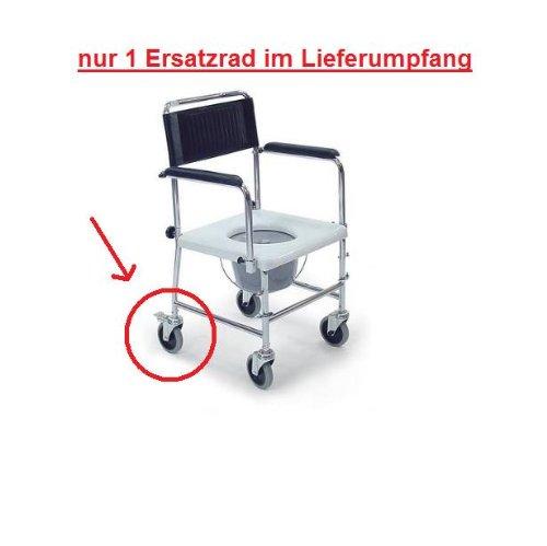 behrend-homecare-21500053-ersatzrad-mit-bremse-fur-toilettenstuhl-duschstuhl-fahrbar