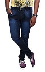 Jugend Skinny fit Blue Stretchable jeans for rmen
