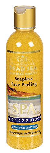Face Peeling Soapless Soap Dead Sea 250ml/8.4oz Chamomile матрас konkord elite duo lux super comfort мультипакет flower 80x200