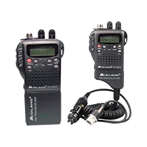 Midland 75-822 Handheld 40-Channel Cb Radio With Weather All-Hazard Monitor &... by Midland