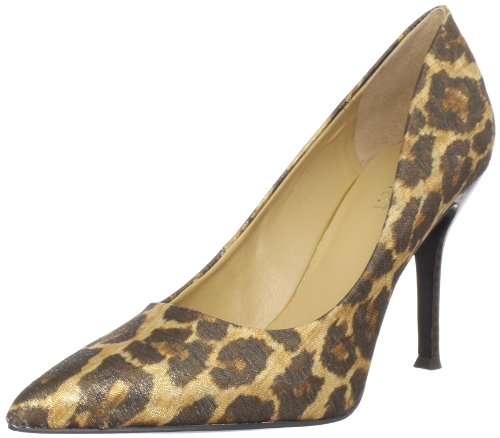 Nine West Women's Flax Pump,Natural Combo Fabric,6.5 M US