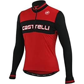 Castelli 2012/13 Men's Fausto Wool Long Sleeve Cycling Jersey - A12508