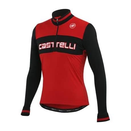 Castelli 2013/14 Men's Fausto Wool Long Sleeve Cycling Jersey - A12508