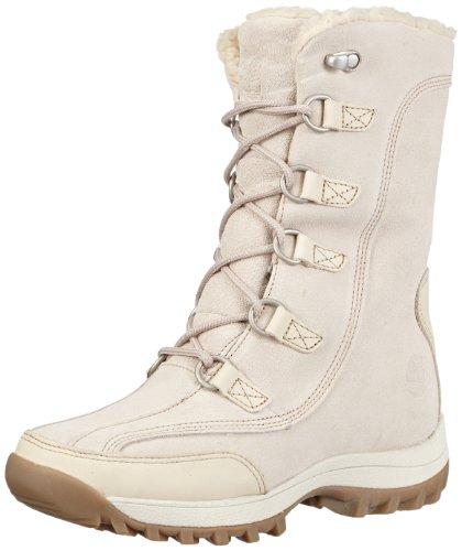 Timberland Women's Canard 10 Inch Boot WP Boot,Winter White,9 M US