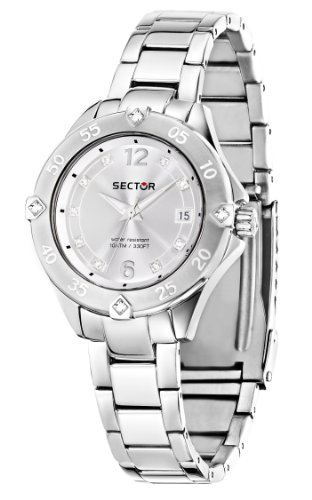 Sector Women's R3253250508 Marine Analog Display Quartz Silver Watch