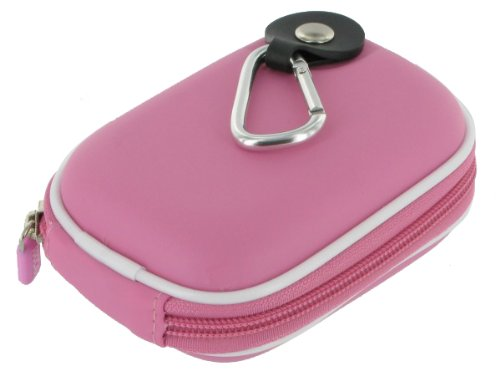 rooCASE EVA Hard Shell (Pink) Carrying Case with Memory Foam for Canon PowerShot SX230 HS GPS-enabled Digital Camera