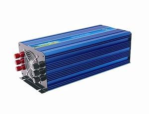 4000W 4kw Off Grid Pure Sine Wave Power Inverter, 8000w Peak power inverter, Solar... by Ten-high