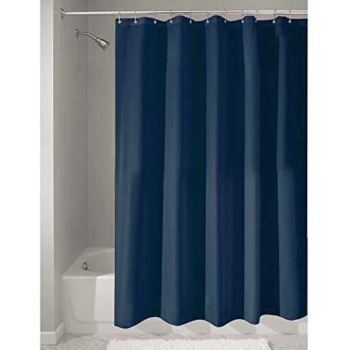 interdesign-14698eu-cortina-para-ducha-de-tela-anti-hongos-e-hidrofuga-180-x-200-cm-color-azul-marin