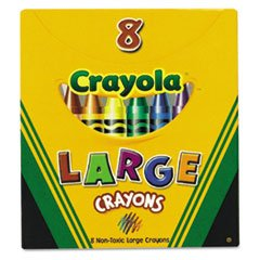 Large Box Of Crayons front-1028283