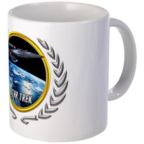 Cafepress Star Trek Federation Of Planets Enterprise Galaxy Mug - Standard