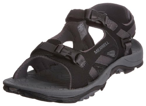 Merrell Men's River Bank Sport Black Sandal J88203 8 UK
