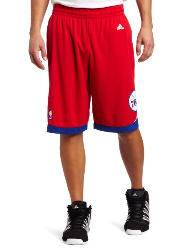 NBA Men's Philadelphia 76ers Swingman Short (Red, XX-Large) adidas Shorts autotags B0048CJJ94