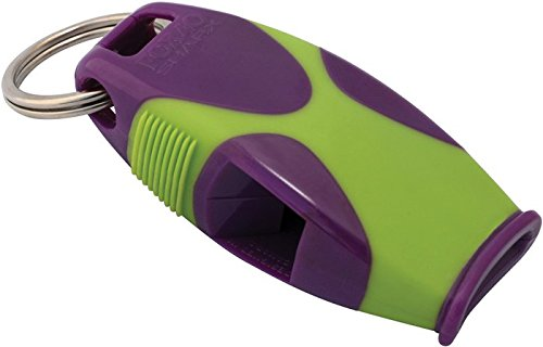 tide-rider-fox-40-sharx-whistle-with-lanyard-coach-rescue-safety-purple-green