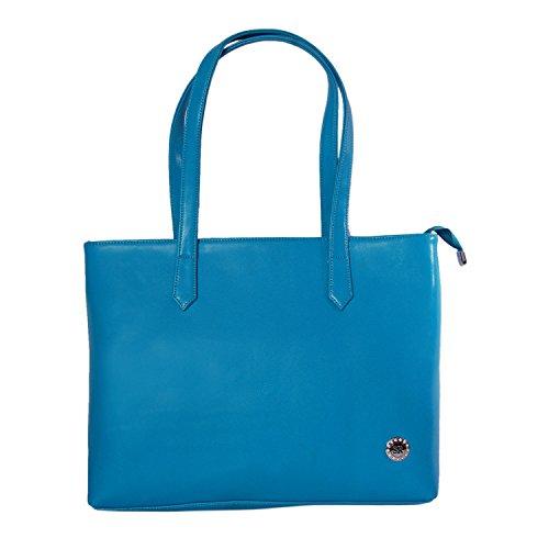 Womaniya Womaniya PU Blue Handbag For Women(Size-40 Cm X 32 Cm X 10 Cm)