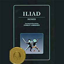 Iliad (       UNABRIDGED) by Homer, Susan Sarandon (Introduction), Stanley Lombardo (Translator) Narrated by Stanley Lombardo, Susan Sarandon