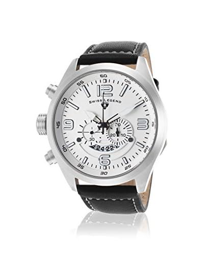 Swiss Legend Men's 10020-02 Highlander Black/White Stainless Steel Watch