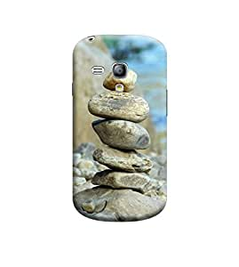 Ebby Premium Printed Back Case Cover With Full protection For Samsung Galaxy S3 Mini (Designer Case)