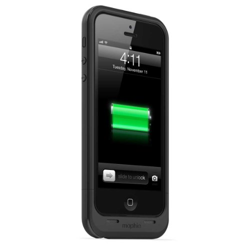 日本正規代理店品mophie juice pack plus for iPhone 5s/5 ブラック MOP-PH-000033