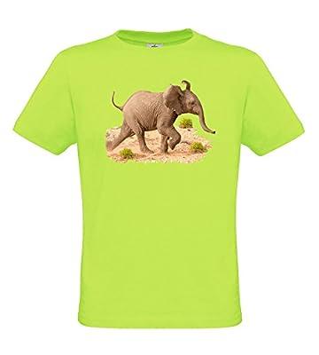 Ethno Designs Kids African Wildlife - Boys Animal T-Shirt Elephant Calf regular fit