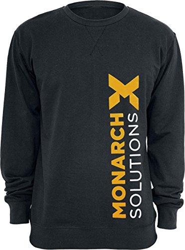 Quantum Break Monarch Solutions Pullover nero XL