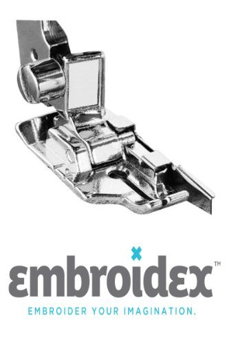 Embroidex 1/4 Inch Quilt Quilting Piecing Foot with Guide For Low Shank Sewing Machine (SA185) Brother/Babylock,Pfaff, Janome, New Home, Juki (Sewing Machine Ce1100prw compare prices)