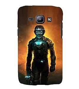 EPICCASE Robot killer Mobile Back Case Cover For Samsung Galaxy J2 (Designer Case)