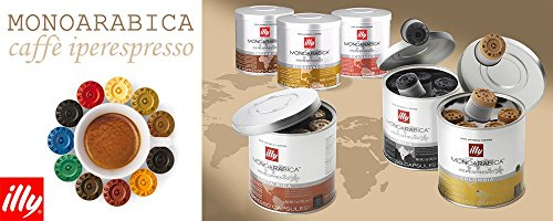 Buy Illy Coffee Iperespresso Colombia - Set 6 cans of 21 capsules each from Illy