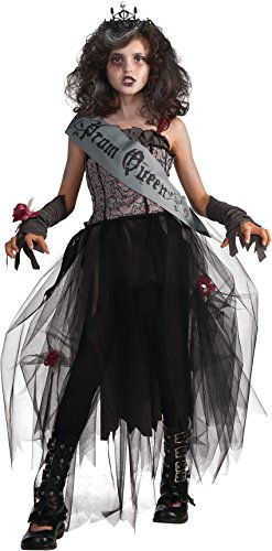 Rubie's Deluxe Goth Prom Queen Costume - Small (4-6)