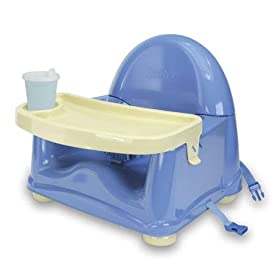 Booster Baby Seat With Tray That Fits Under Kitchen Table
