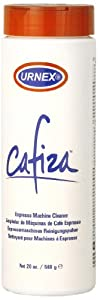 European Gift and Houseware Urnex Cafiza Espresso Machine Cleaner and Descaler, 20-Ounce from European Gift and Houseware
