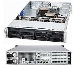 Supermicro SuperChassis CSE-829TQ-R920UB 920W 2U Rackmount Server Chassis (Black)