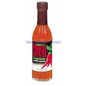 Trappeys Red Devil Cayenne Pepper Sauce - 6 Oz from B&G Foods