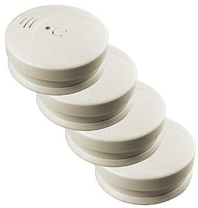 mumbi RM104 4x optischer Rauch-/ Feuer-/ Brandmelder geprüft nach DIN EN 14604