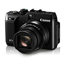 Canon PowerShot G1X 14.3MP Point-and-Shoot Digital Camera (Black) with 4GB SD Card, Camera Case