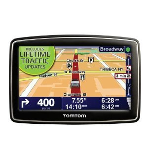 TomTom XL 340T 4.3-Inch Portable GPS Navigator (Lifetime Traffic Edition)