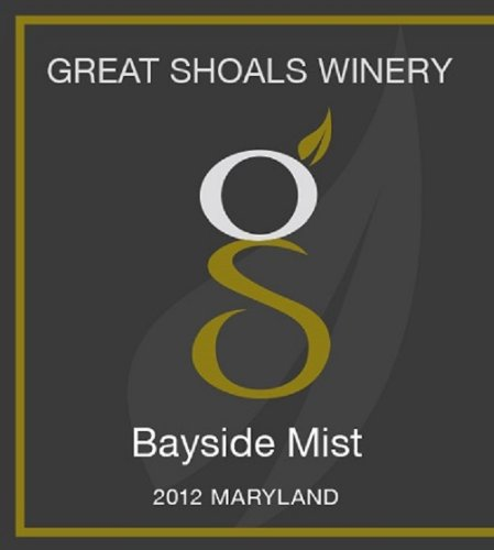 Great Shoals Bayside Mist White Blend Maryland 750 Ml
