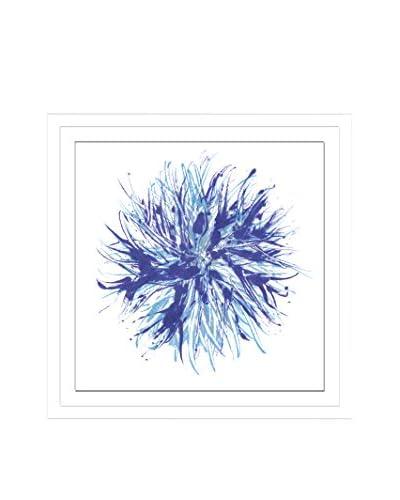 Shirley Williams Core Indigo V Artwork on Framed Paper