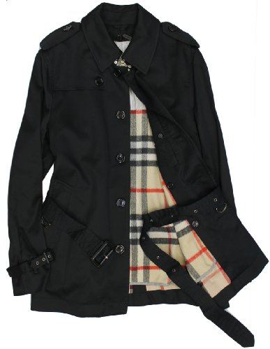 (Burberry London) BURBERRY LONDON single long sleeve trench coat...
