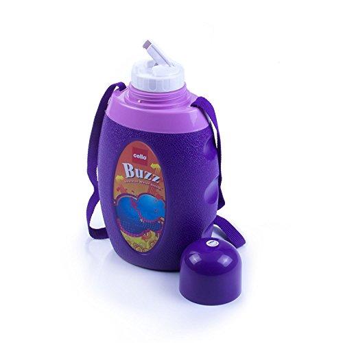Cello Buzz Water Bottle, 1 Litre, Violet