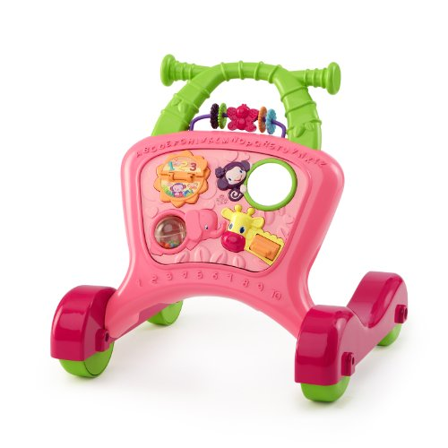 Bright Starts Sit to Stride Activity Walker, Pretty in Pink (Discontinued by Manufacturer)