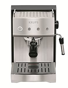 KRUPS XP5280 Pump Espresso Machine with KRUPS Precise Tamp Technology and Stainless Steel Housing, Silver by KRUPS